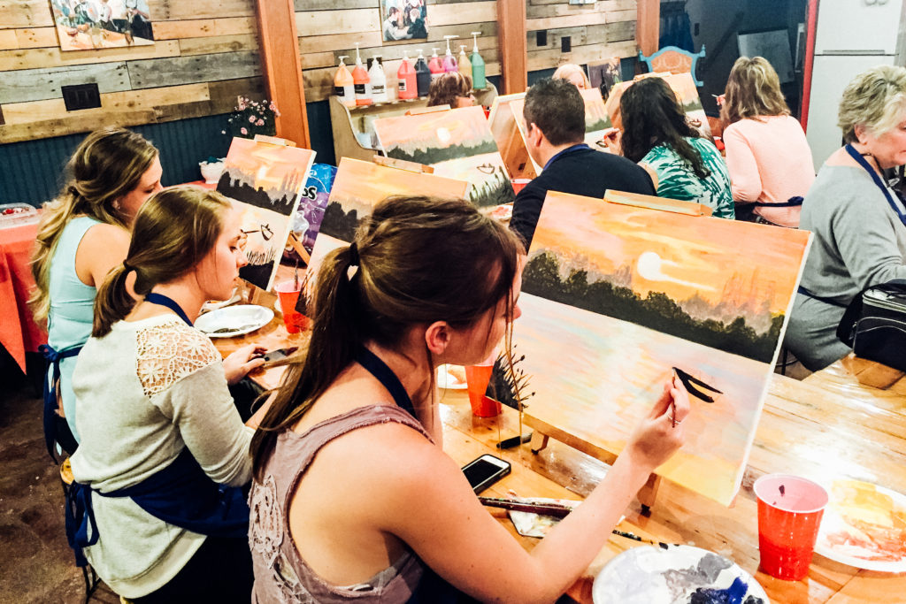 Private Adult painting party near Pittsburgh PA