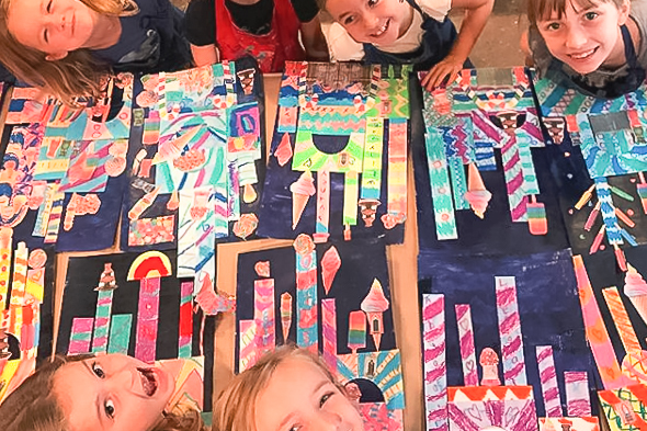 Art Painting Summer Camps for Children